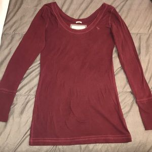 Burgundy Abercrombie&Fitch sweater